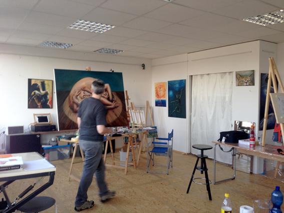 Atelier für Malkurse