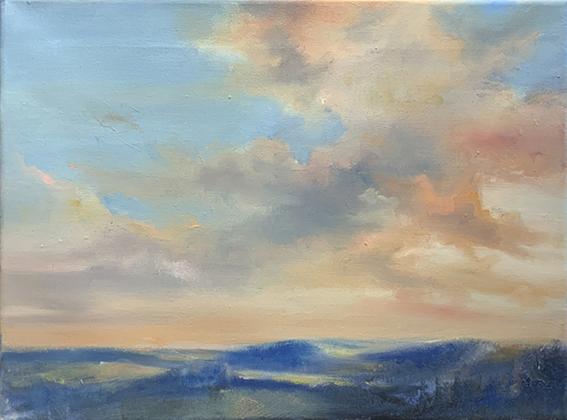 Malkurs Video, Wolken über Schwarzwald