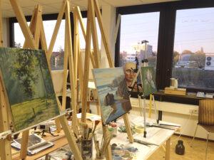 Malkurse in Freiburg, Ölmalerei für Anfänger